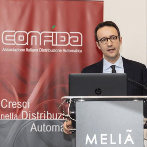 Il direttore di CONFIDA Michele Adt racconta il Vending a Radio24