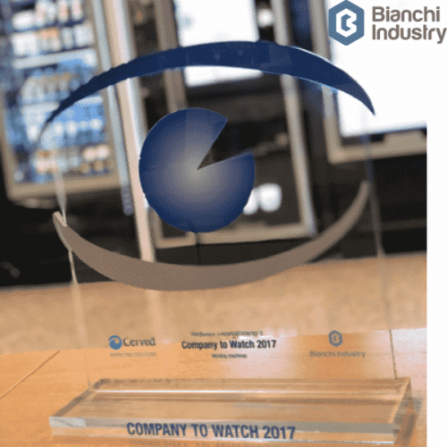 "Bianchi Industry insignita del premio  ""Company to Watch 2017"""