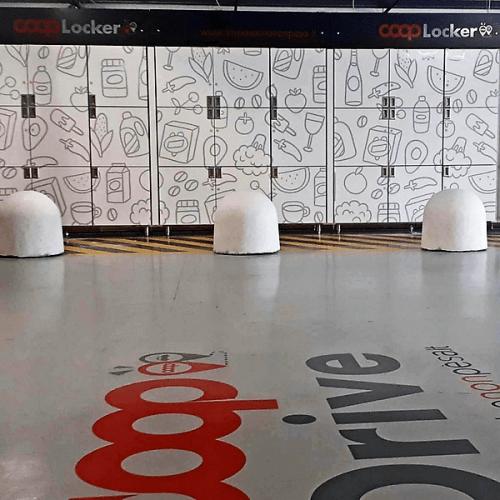 Al Coop Drive di Genova la spesa si ritira agli Smart Locker