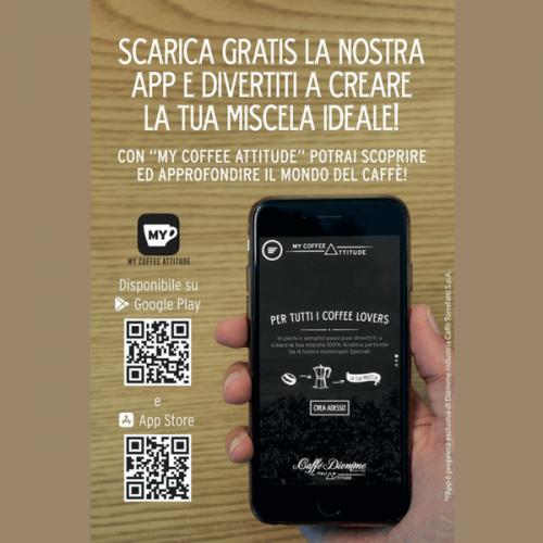 Nuova app My Coffee Attitude: l'idea di Diemme per i coffee lovers