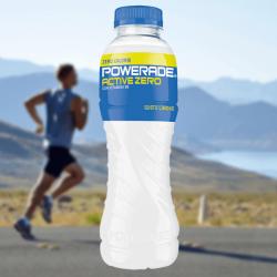 Powerade Active Zero: gusto limone e zero zuccheri per gli sportivi