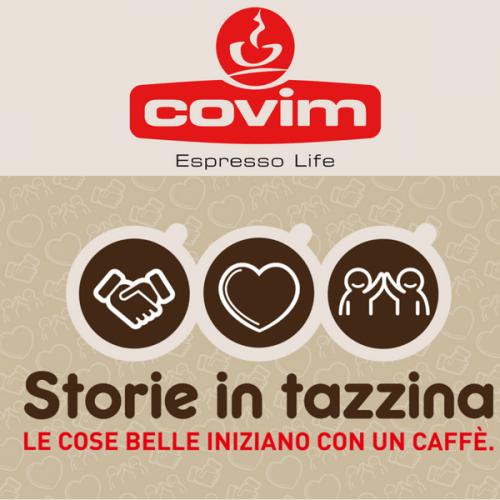 """Covim lancia il concorso """"Storie in Tazzina"""""""