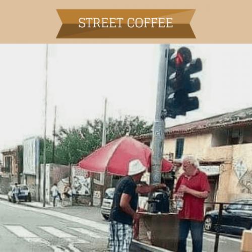 """Street Coffee. La macchinetta per il caffè """"da semaforo"""""""
