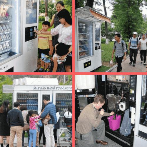 La rivoluzione Vending ad Hanoi, capitale del Vietnam