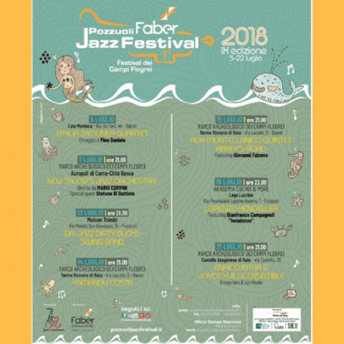 Presentata la nona edizione del Pozzuoli Faber Jazz Festival