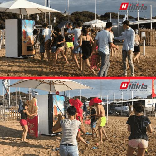 Gruppo Illiria diverte i bagnanti con i candid camera da spiaggia