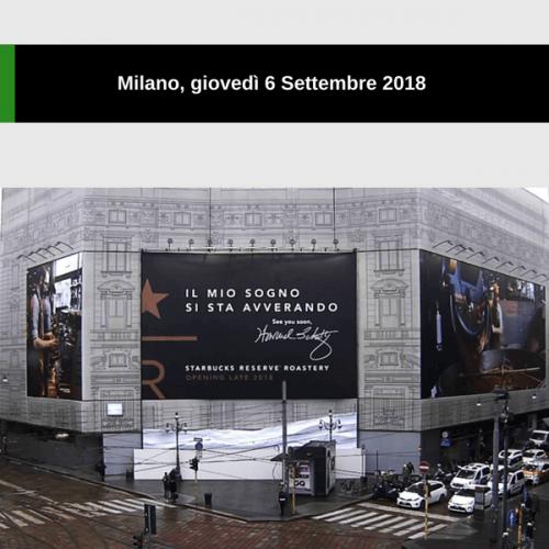 Starbucks inaugura a Milano e si accorda con Nestlé e Alibaba