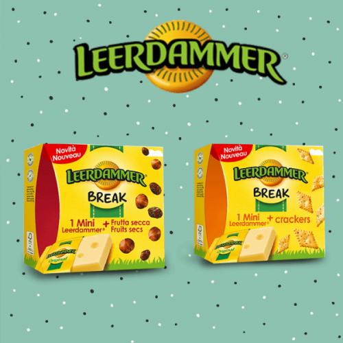 Leerdammer Break: una pausa gustosa e sana