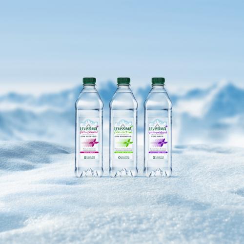 Nuovo spot dedicato a Levissima+, le bevande funzionali con Sali Minerali