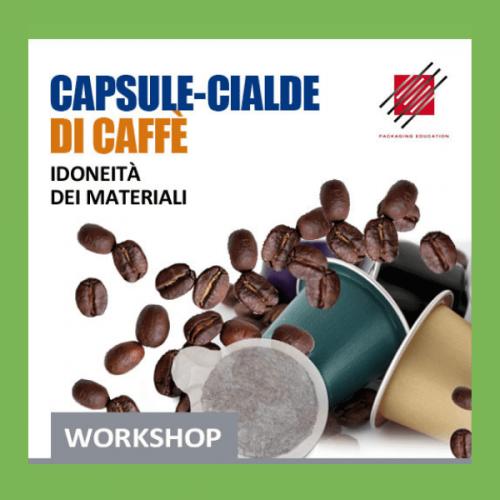 Capsule-cialde idoneità dei materiali: il workshop a Milano