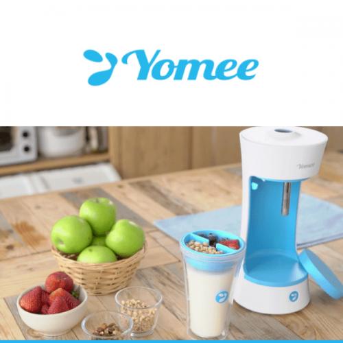 Yomee: la macchina a capsule per fare lo yogurt in casa