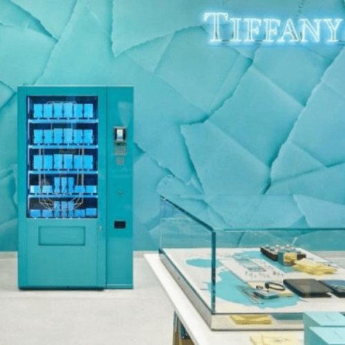 Vending Machine di lusso: Marla Aaron a Brooklyn e Tiffany a Londra