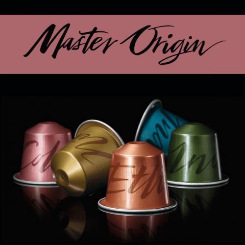Nespresso presenta la nuova gamma Master Origin