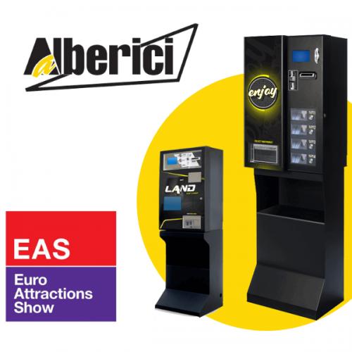 Le novità di Alberici all'Euro Attractions Show di Amsterdam