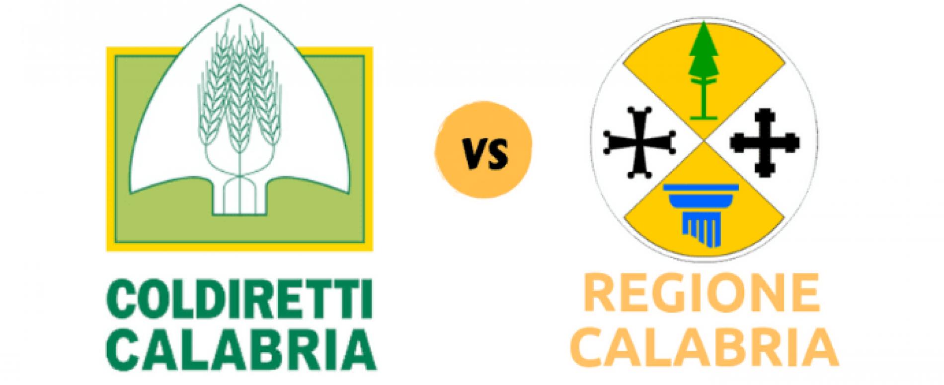 Coldiretti Calabria chiede modifica del bando del Consiglio Regionale