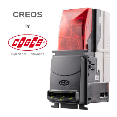 Coges presenta Creos, il nuovo lettore di banconote