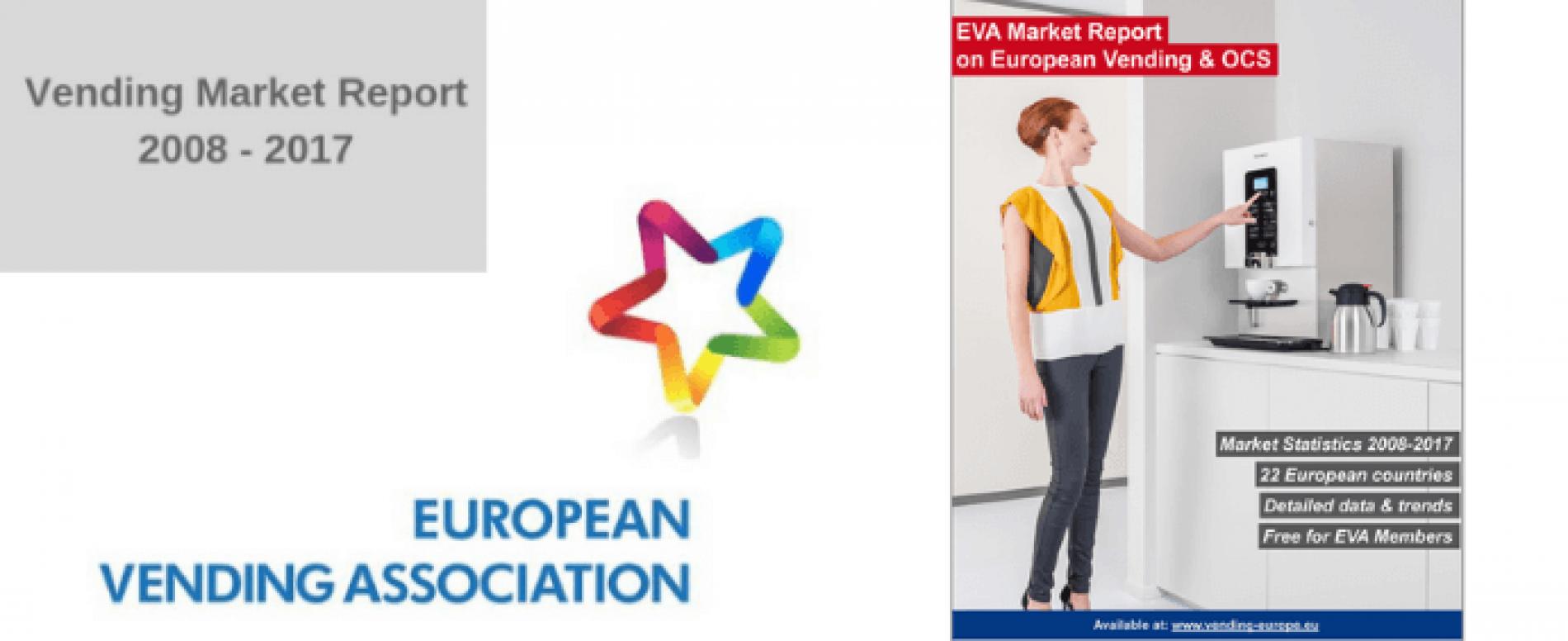 Mercato europeo del Vending. L'EVA pubblica l'ultimo report