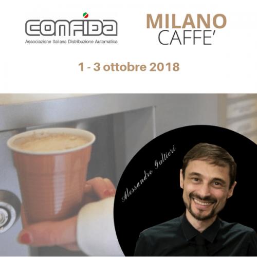 Milano, lunedì 1 ottobre, il Vending va a lezione di caffè