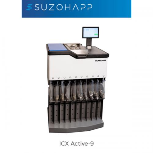 Con ICX Active-9 di SUZOHAPP si apre una nuova era nel conteggio delle monete