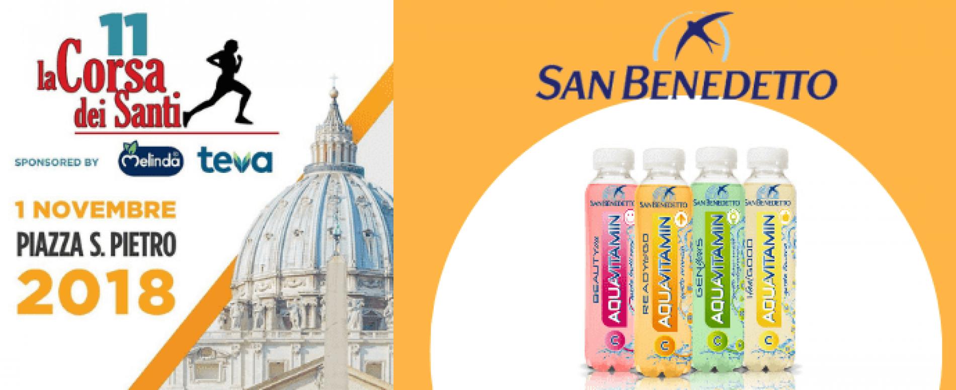 """San Benedetto fornitore ufficiale di """"La Corsa dei Santi"""" 2018"""