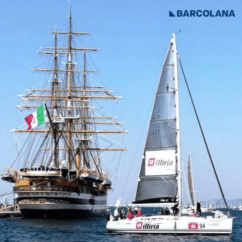 #BARCOLANA50. Gruppo Illiria si classifica al 102° posto