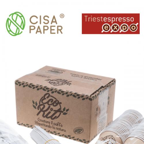 CisaPaper® a TriestEspresso 2018. Pad. 30 – Stand 79