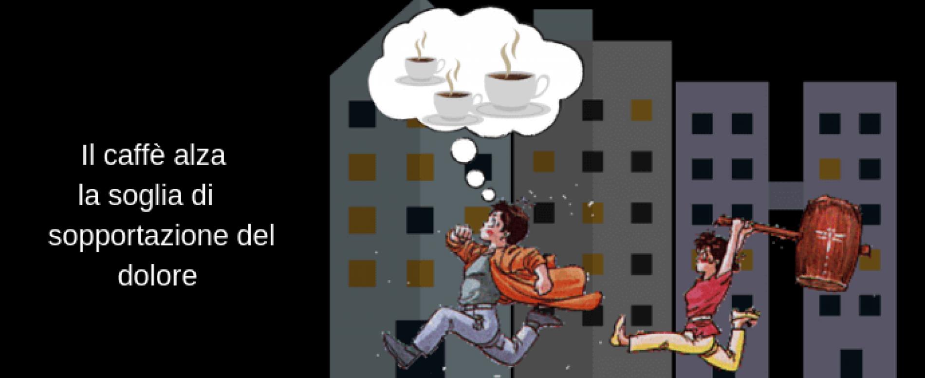 Due tazze di caffè al giorno: un analgesico contro il dolore