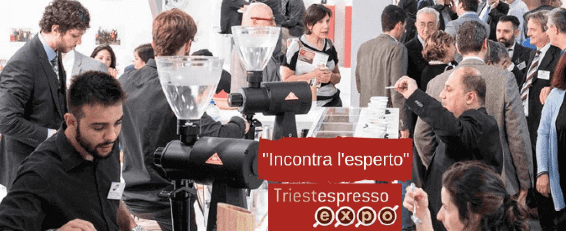 """""""Incontra l'esperto"""" a TriestEspresso Expo 2018"""