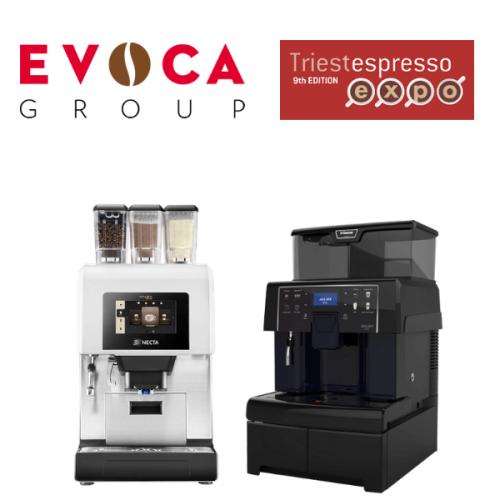 EVOCA Group a TriestEspresso 2018. Pad. 30- Stand 62