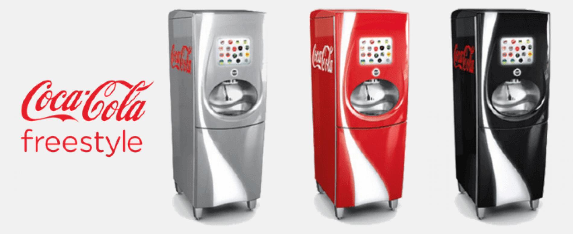 Coca-Cola Freestyle arriva anche in Italia:  100+ bibite da creare!