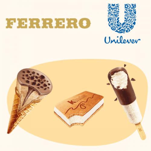 Nel 2019 i gelati Kinder Ferrero arrivano anche in Italia