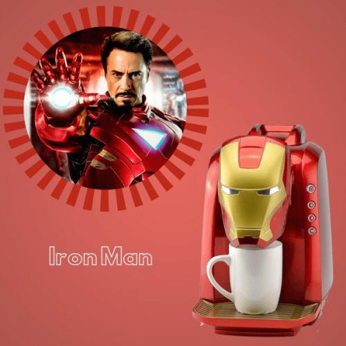 """La macchina da caffè di Iron Man fa il caffè """"eroico"""", in capsula o macinato"""