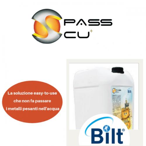 PassCu di Bilt, la soluzione che elimina i metalli pesanti nell'acqua