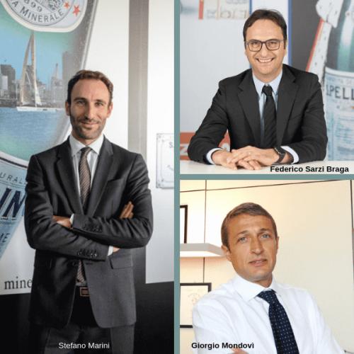 Sanpellegrino: 3 italiani per lo sviluppo del business in Italia e Sud Europa