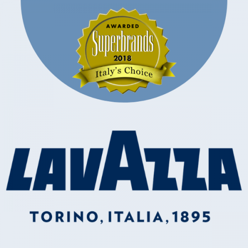 Doppio Superbrands Award 2018 per Lavazza