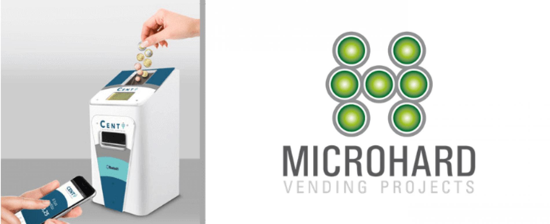 Centy di Microhard, il contamonete che trasforma gli spiccioli in denaro virtuale