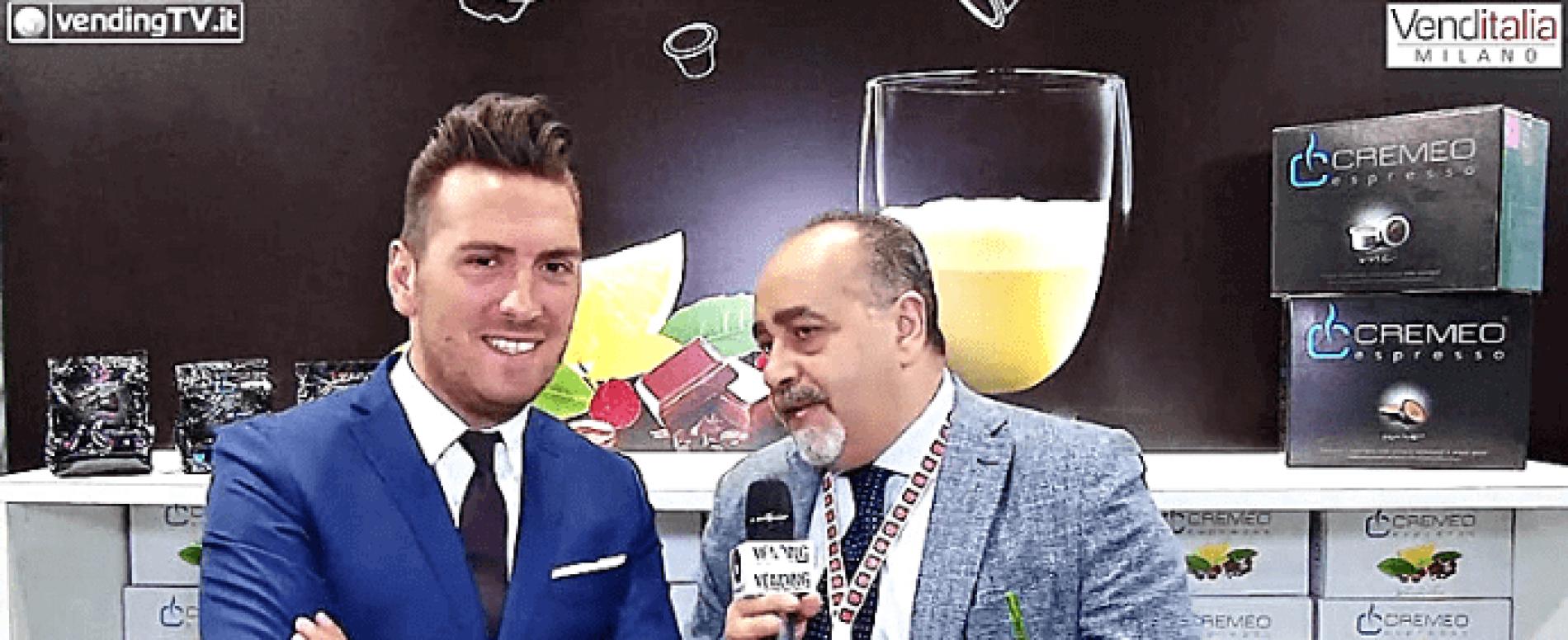 Venditalia 2018. Intervista con Giuseppe Trinca di Caffè Cremeo