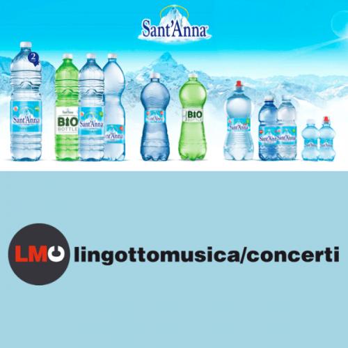 Acqua Sant'Anna partner dell'associzione Lingotto Musica