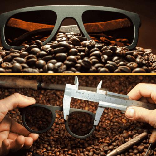Ochis Coffee, gli occhiali sostenibili al profumo di caffè