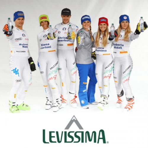 Levissima è l'acqua ufficiale della Federazione Italiana Sport Invernali