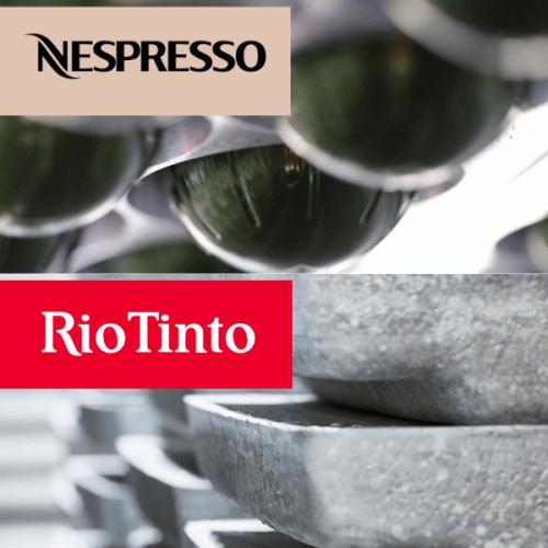 Nespresso: l'accordo con Rio Tinto per capsule eco-sostenibili