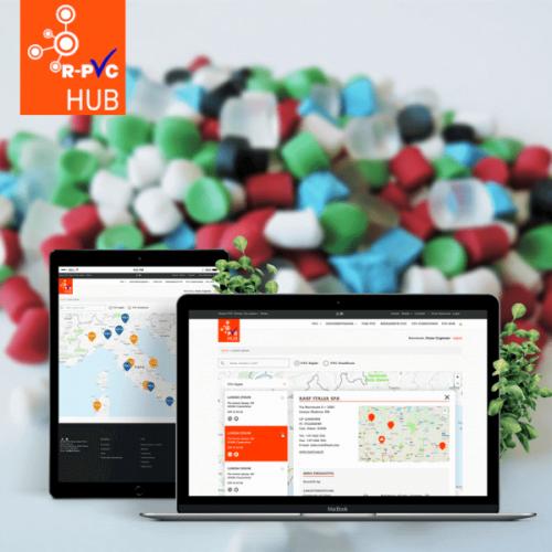 R-PVC HUB: la piattaforma per riciclare e riutilizzare il PVC