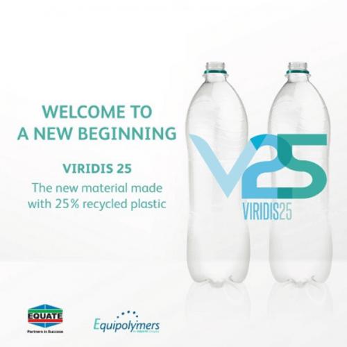 Equipolymers e Coca-Cola con Viridis 25 per un PET riciclato al 25%