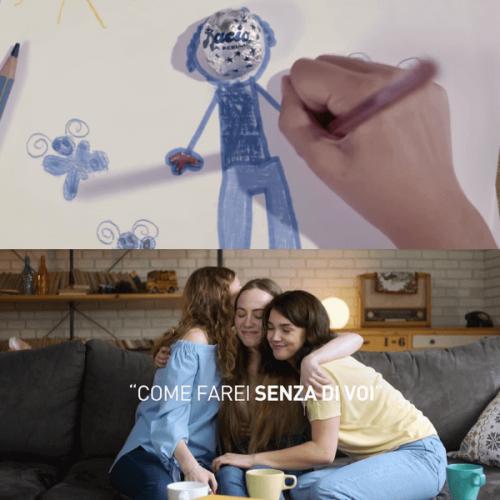La nuova campagna di Baci Perugina celebra le emozioni