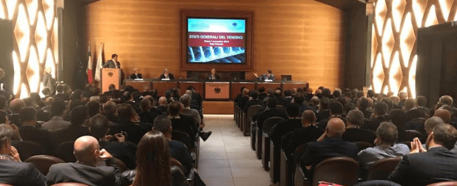 Stati Generali del Vending 2018: il punto sulla Distribuzione Automatica