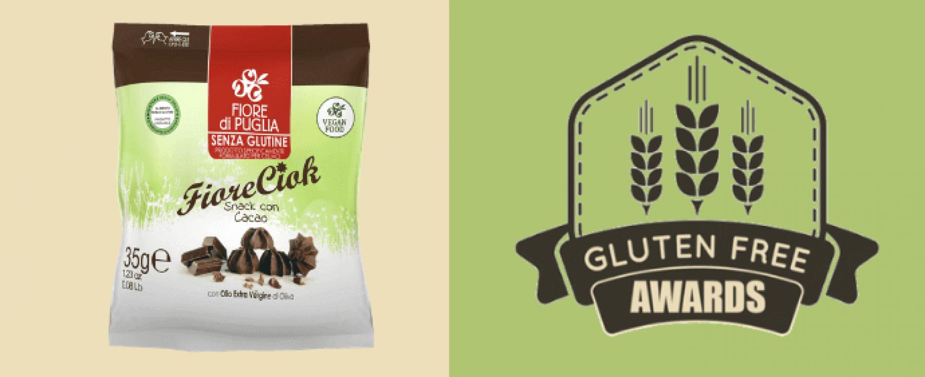Fiore di Puglia vince ai Gluten Free Awards con Fiore Ciok