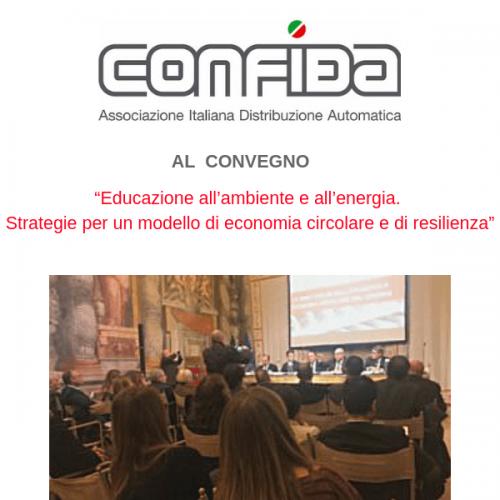 Il presidente di CONFIDA al Senato parla di Vending Sostenibile