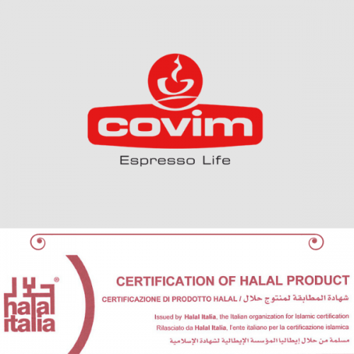 I caffè Covim ottengono la certificazione Halal