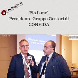 Vending TV – Intervista con Pio Lunel, Pres. Gruppo Gestori CONFIDA