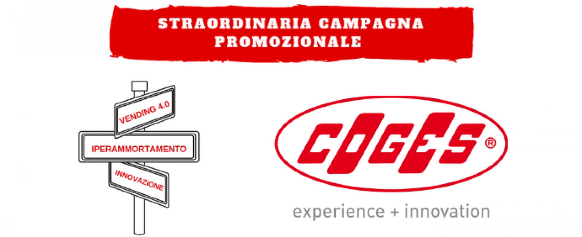 Campagna promozionale COGES per usufruire dell'Iperammortamento
